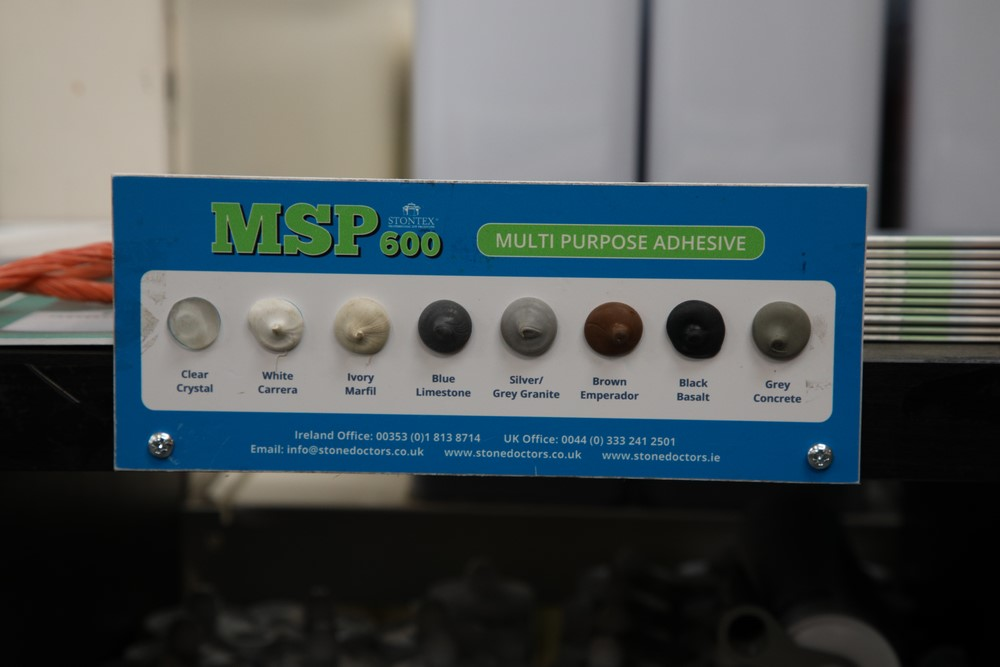 MSP 600 and Colours